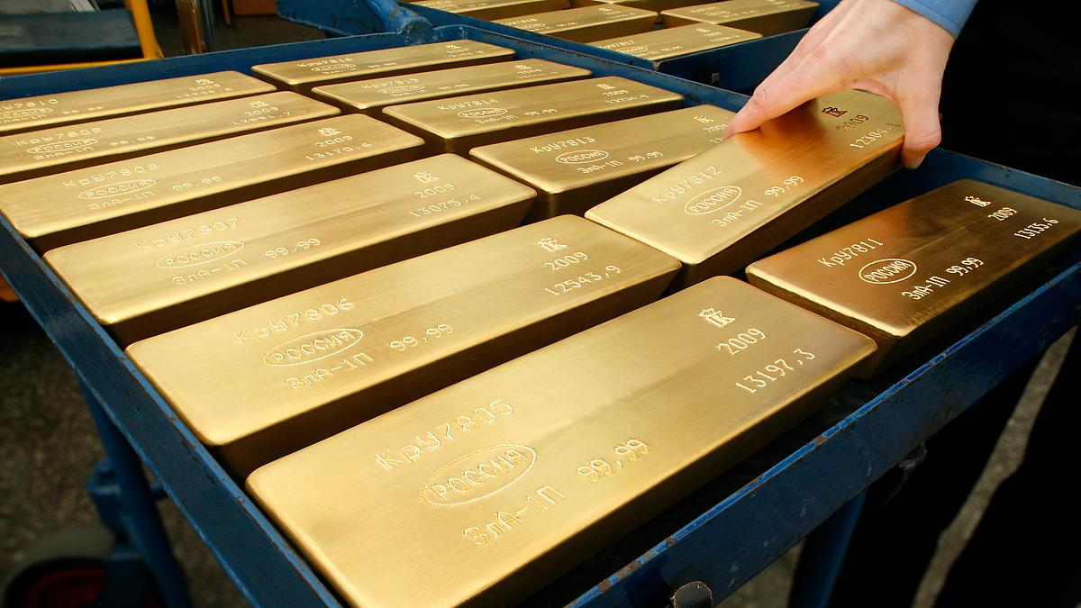 A Two-in-One, Gold-Hedged Stock ETF Strategy