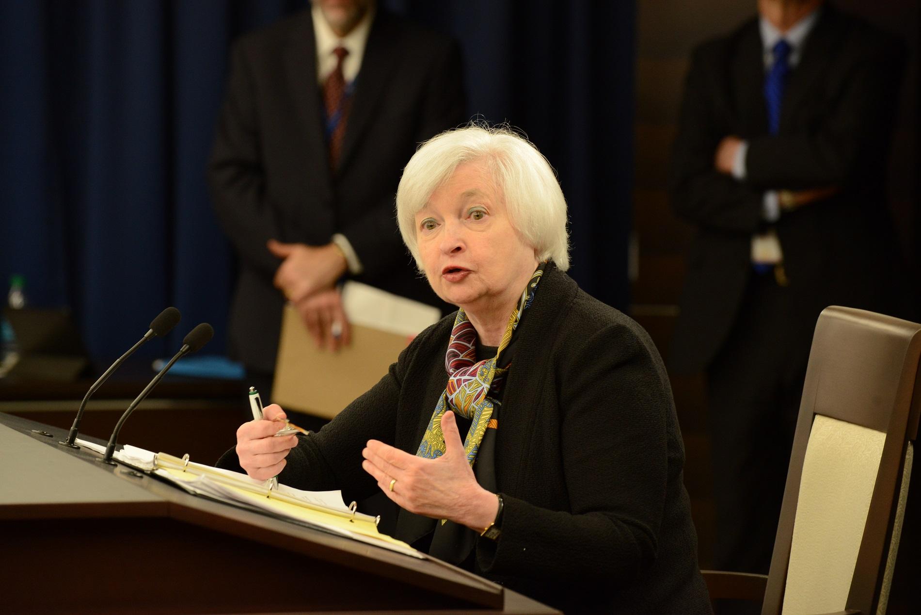 Gold ETFs Lose Direction After Yellen's Speech
