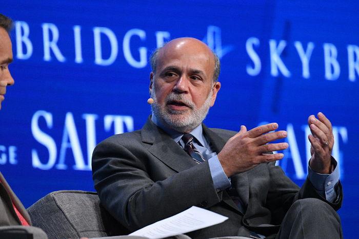 Former Federal Reserve Chairman Ben Bernanke. Photo: 2017 SALT Conference