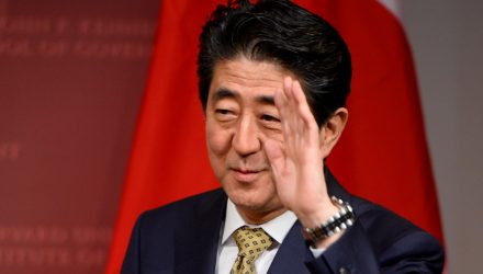 Japan ETF Celebrates Prime Minster Abe's Re-Election