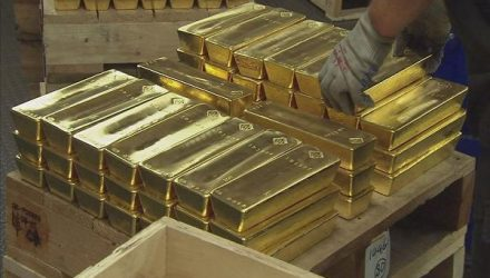 Big Gold ETF Does Something Unusual