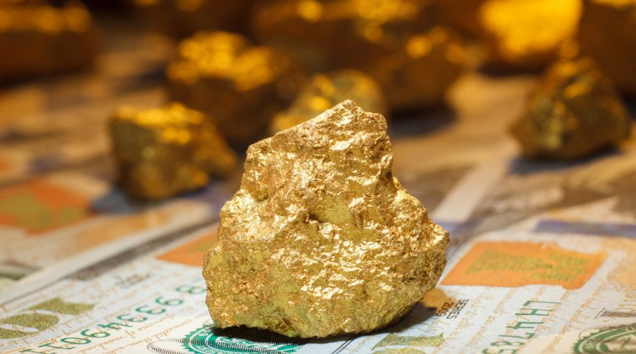 Driven by U.S. Dollar Weakness, Gold Market Gained in January