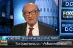 Alan Greenspan Says Tariffs Essentially a Tax