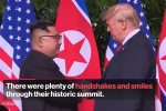 Donald Trump-Kim Jong Un Summit in 60 Seconds