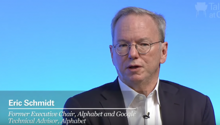 Former Google Chariman Discusses Future of AI