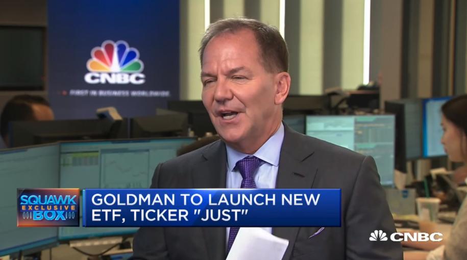 Goldman Sachs Debuts ETF Based on Paul Tudor Jones' 'Just Capital'