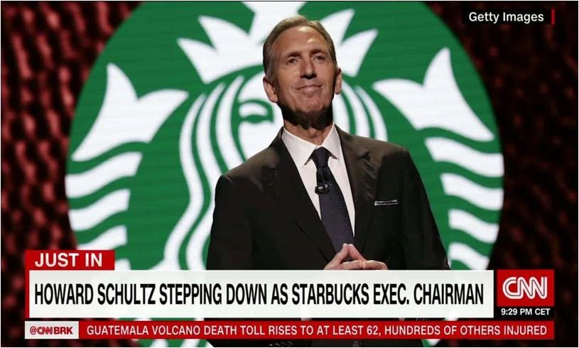 The Howard Schultz Factor on the ETF Industry