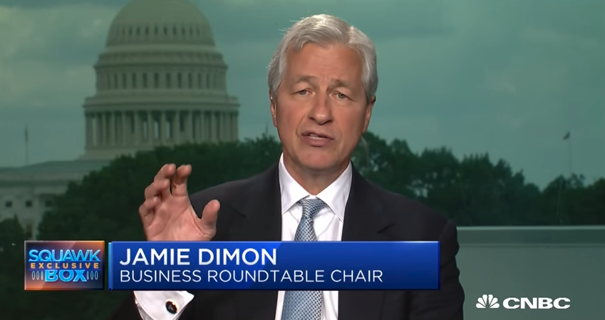 Jamie Dimon: Tariffs Aren't the Way to Go