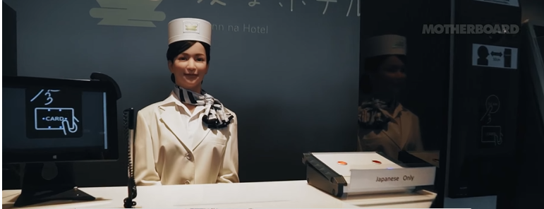 Inside the Japanese Hotel Staffed by Robots