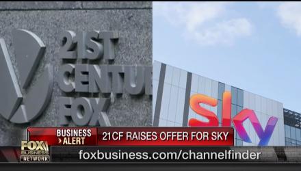 21st Century Fox Raises Sky Offer to $32.5B