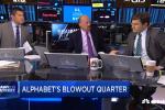Cramer: Alphabet 'crushing it' this quarter