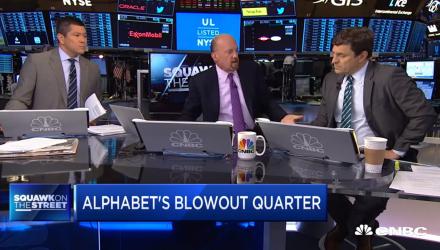 Alphabet Keeps 'Crushing It', Says Jim Cramer