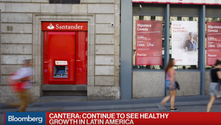 Santander CFO Discusses Earnings, U.K., Brazil Elections, Banking Tax