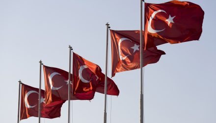 Turkey ETF Plunges in Response to Erdogan's Iron Grip on Economy