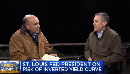 Fed President Discusses Interest Rates and the Yield Curve