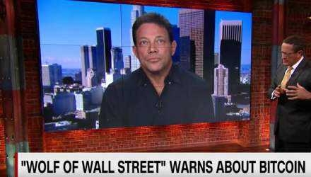 'Wolf of Wall Street' Serves Warning to Bitcoin Investors