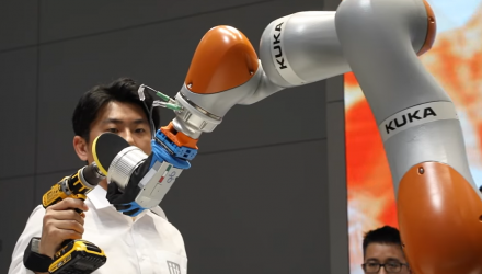 Robotics Researchers Compete in the KUKA Innovation Award 2018