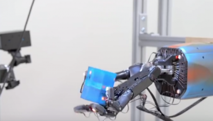 Robot Hand Unexpectedly Learns Human Behavior