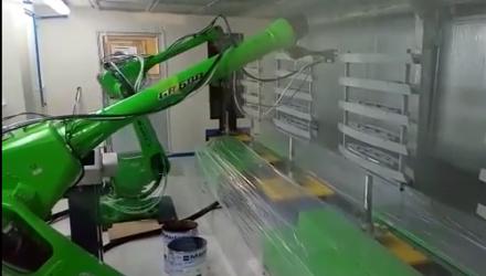 Automotive Plastic Painting by CMA Robotics