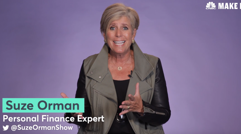 Biggest Investing Mistake Millennials Make, Says Suze Orman